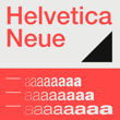About Helvetica Neue font family